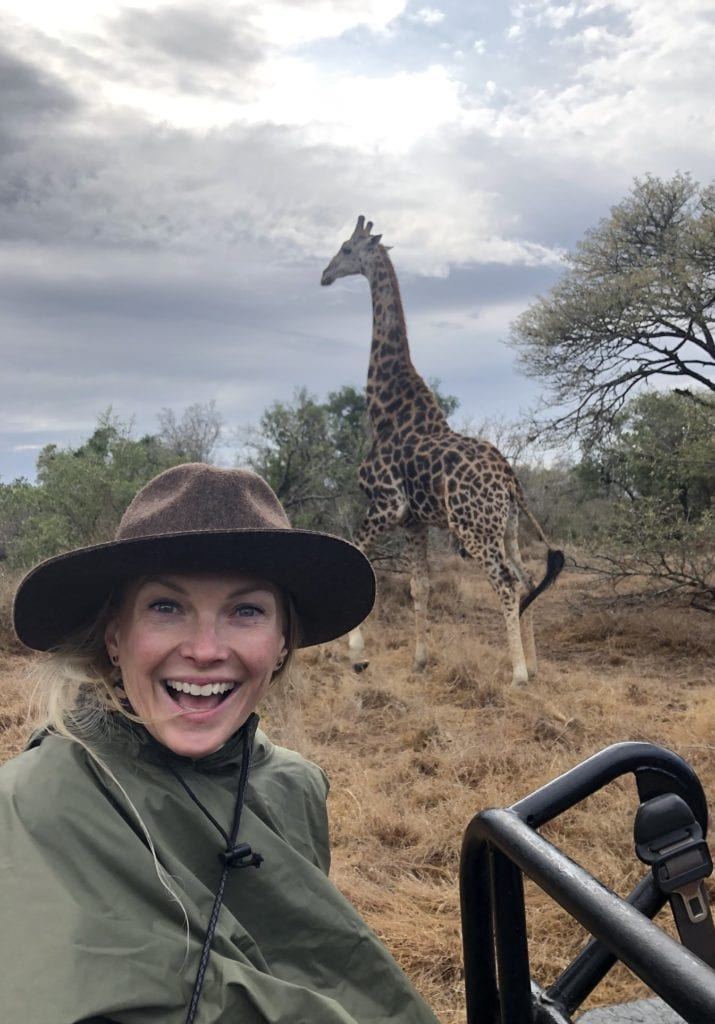 Kelley and Giraffe